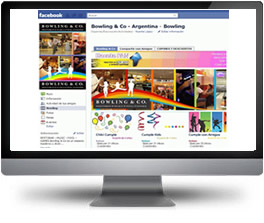 Facebook para Bowling and Co Argentina - Norcenter - W2Analytics